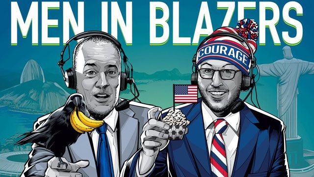 ESPN FC with Men in Blazers