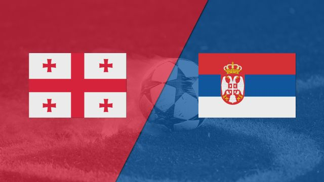 In Spanish - Georgia vs. Serbia (FIFA World Cup Qualifier) (re-air)