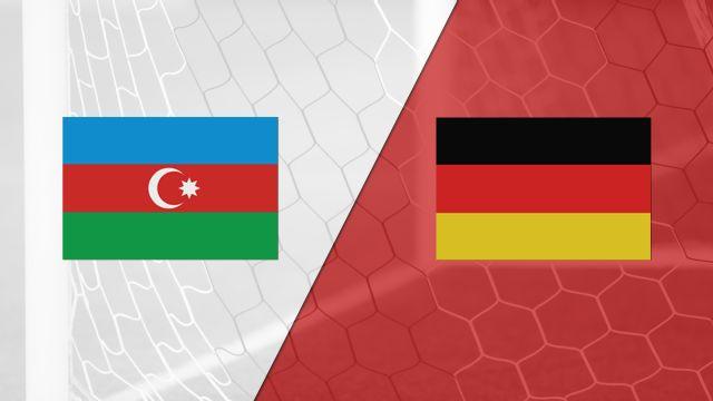 In Spanish - Azerbaijan vs. Alemania (FIFA World Cup Qualifier) (re-air)