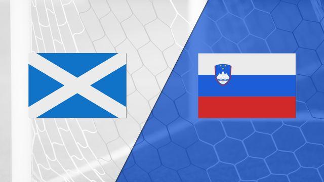 Scotland vs. Slovenia (FIFA World Cup Qualifier)