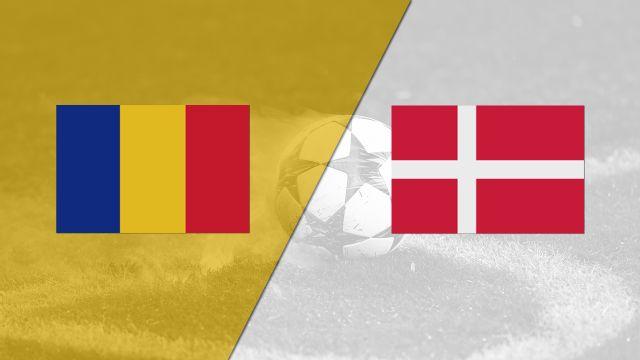 Romania vs. Denmark (FIFA World Cup Qualifier)