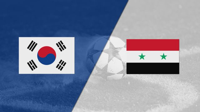 South Korea vs. Syria (FIFA World Cup Qualifier)