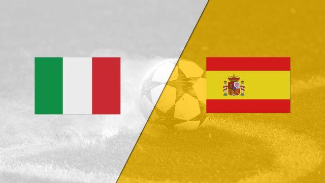 Italy U-21 vs. Spain U-21 (International Friendly)
