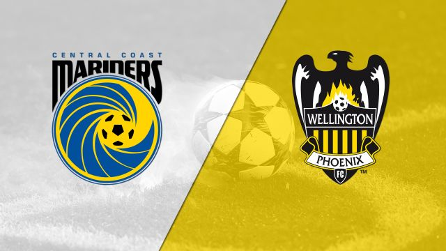 Central Coast Mariners vs. Wellington Phoenix