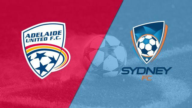 Adelaide United vs. Sydney FC