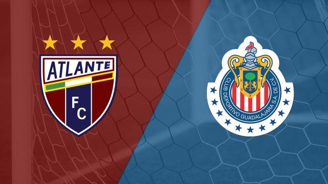In Spanish - Atlante vs. Chivas de Guadalajara (Fecha #5) (Copa Mexico)