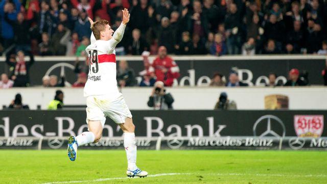 In Spanish - VfB Stuttgart vs. Borussia Dortmund (Cuartos de Final) (German Cup)