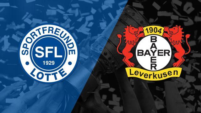 In Spanish - Sportfreunde Lotte vs. Bayer Leverkusen (Segunda Vuelta) (German Cup)