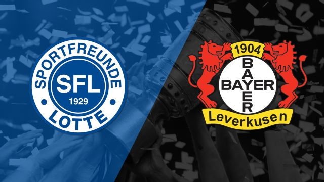 Sportfreunde Lotte vs. Bayer Leverkusen (German Cup)