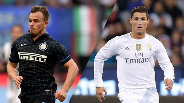 In Spanish - Inter Milan vs. Real Madrid (International Champions Cup)