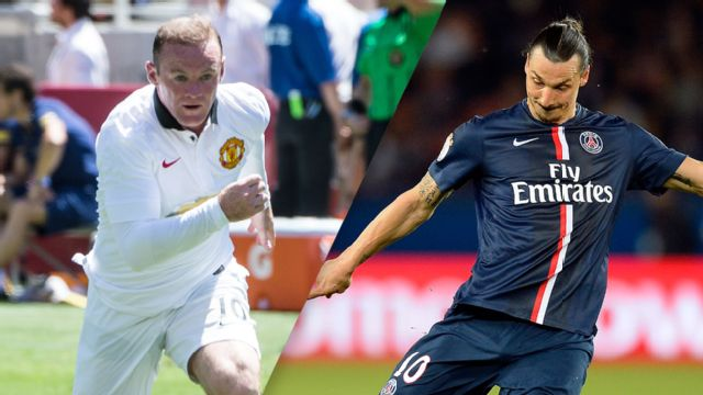 In Spanish - Manchester United vs. Paris Saint Germain (International Champions Cup)