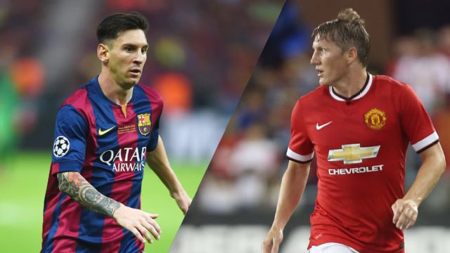 In Spanish - Barcelona vs. Manchester United (International Champions Cup) (re-air)