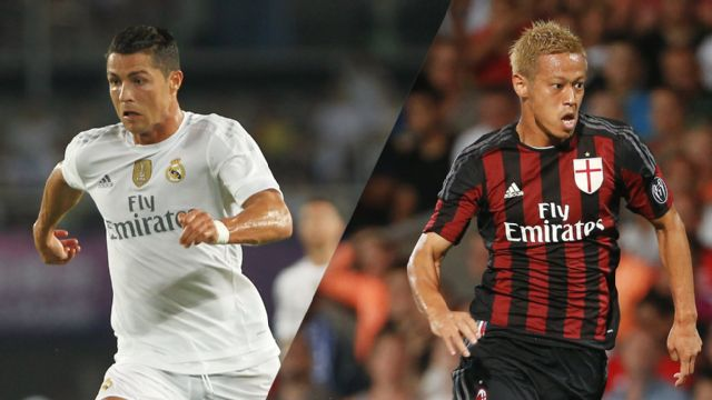 In Spanish - Real Madrid vs. AC Milan (International Champions Cup)