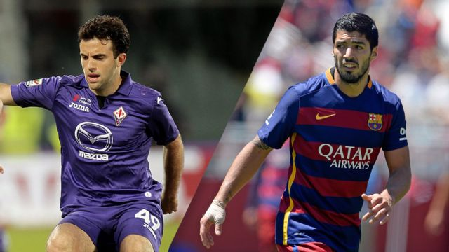 In Spanish - Fiorentina vs. Barcelona (International Champions Cup)