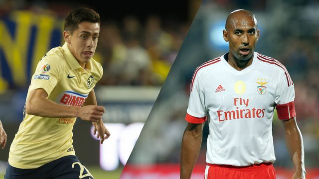 In Spanish - Club Am�rica vs. SL Benfica (International Champions Cup)
