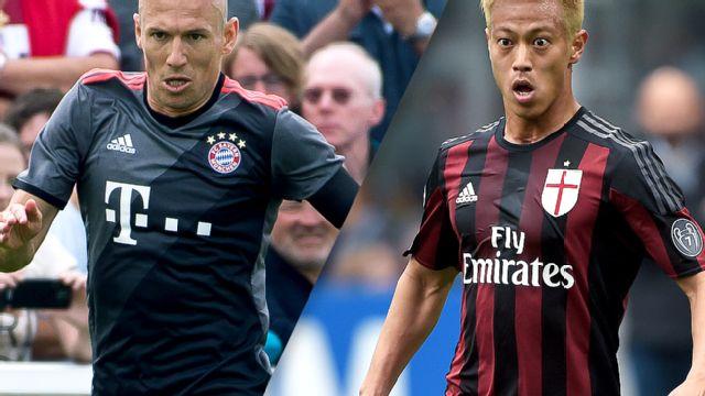 In Spanish - Bayern Munich vs. AC Milan (International Champions Cup)