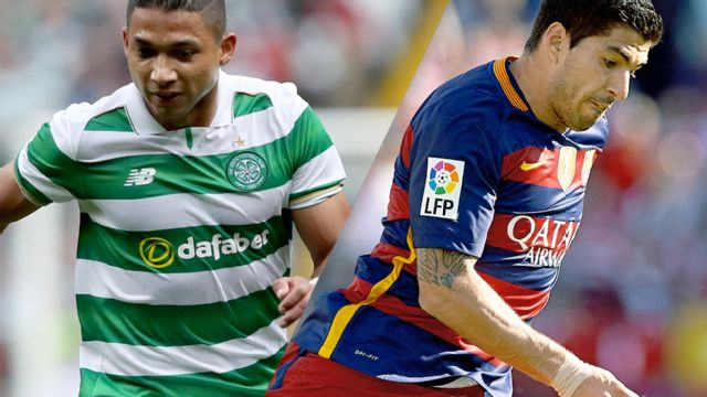 In Spanish - Celtic vs. Barcelona (International Champions Cup)