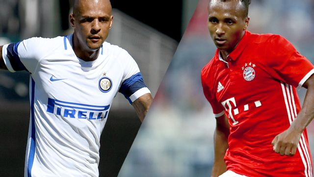 In Spanish - Internazionale vs. Bayern Munich (International Champions Cup)