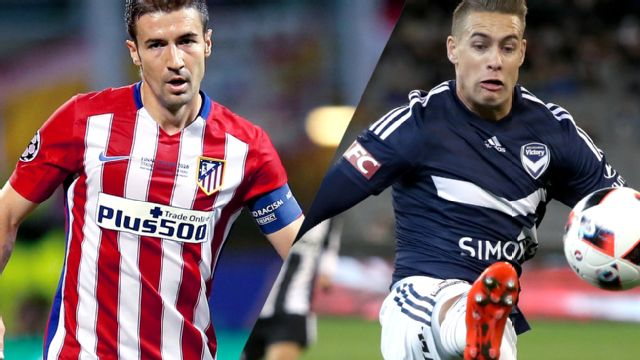 In Spanish - Atl�tico Madrid vs. Melbourne Victory (International Champions Cup)