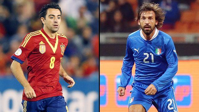 Spain vs. Italy