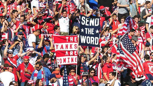 USA Fan Cam - United States vs. Mexico (Surround)