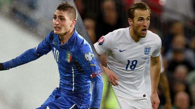 In Spanish - Italia vs. Inglaterra (M Soccer) (re-air)