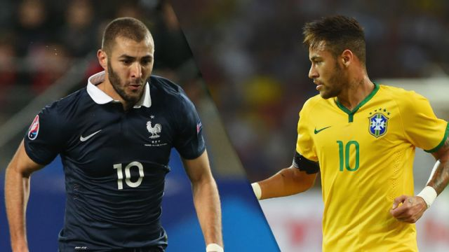France vs. Brazil (M Soccer)