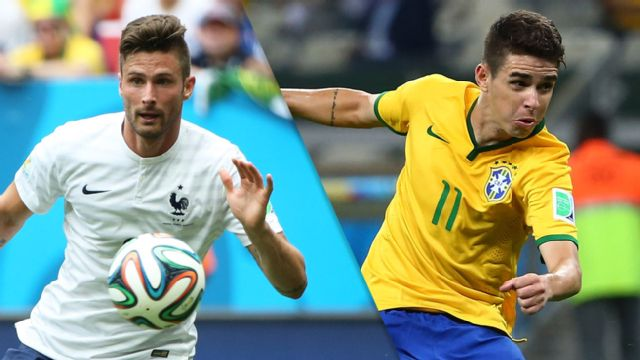 In Spanish - Francia vs. Brasil (M Soccer) (re-air)