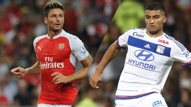 In Spanish - Arsenal vs. Olympique Lyonnais (Emirates Cup) (re-air)