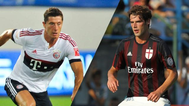 In Spanish - Bayern Munich vs. AC Milan (Audi Cup)