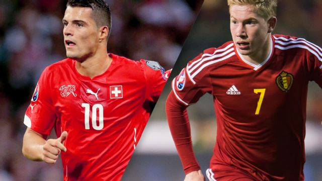 In Spanish - Suiza vs. Belgica (International Friendly) (re-air)