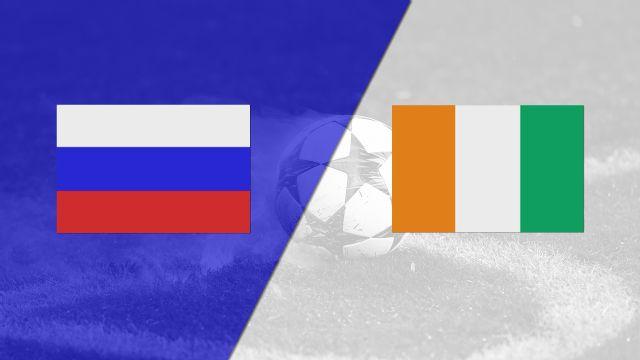 In Spanish - Rusia vs. Costa de Marfil (International Friendly)