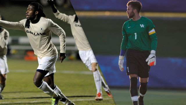 Oakland vs. Kentucky (First Round) (NCAA Men's Soccer Championship)