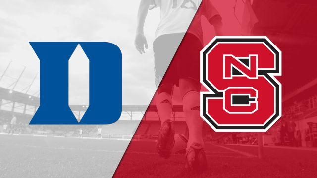 Duke vs. NC State (M Soccer)
