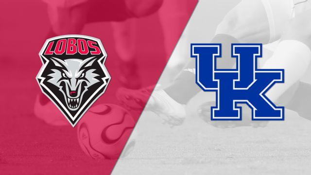 #21 New Mexico vs. Kentucky (M Soccer)