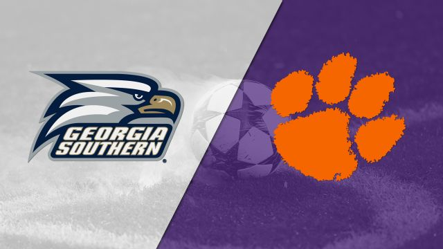 Georgia Southern vs. #5 Clemson (M Soccer)
