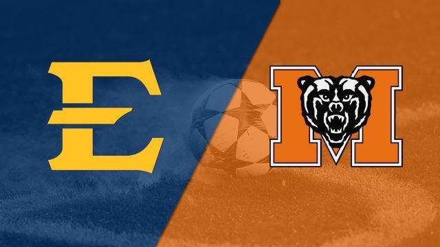 East Tennessee State vs. Mercer (M Soccer)