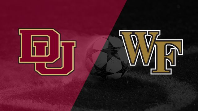 Denver vs. Wake Forest (Semifinal #1) (Men's College Cup)