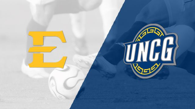 East Tennessee State vs. UNC-Greensboro (M Soccer)