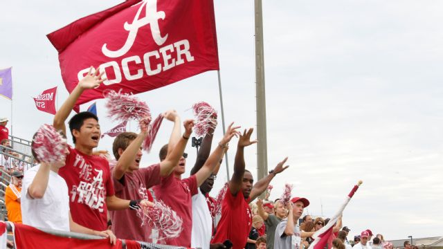 Alabama State vs. Alabama (W Soccer)
