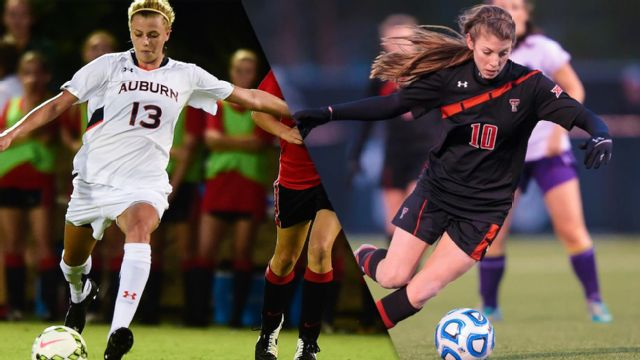 Auburn vs. #3 Texas Tech (Second Round) (NCAA Women's Soccer Championship)