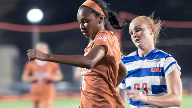 College of Charleston vs. Texas (W Soccer) (re-air)