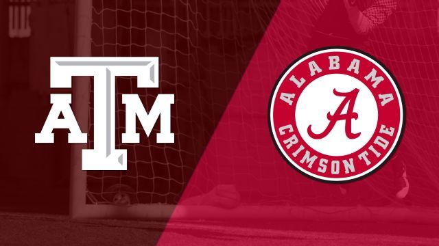 #14 Texas A&M vs. Alabama (W Soccer)