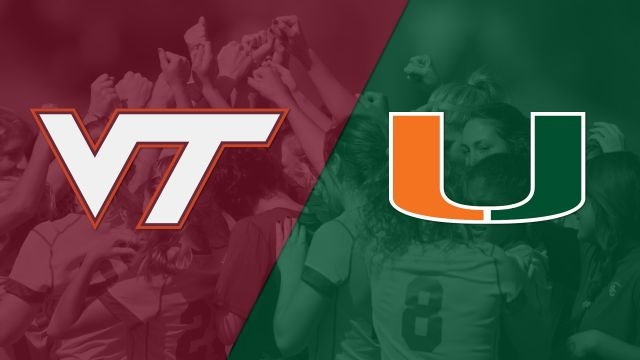 #25 Virginia Tech vs. Miami (W Soccer)
