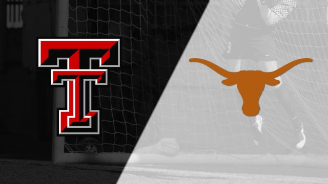 Texas Tech vs. Texas (W Soccer) (re-air)