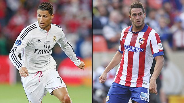 Real Madrid vs. Atl�tico Madrid (First Leg)