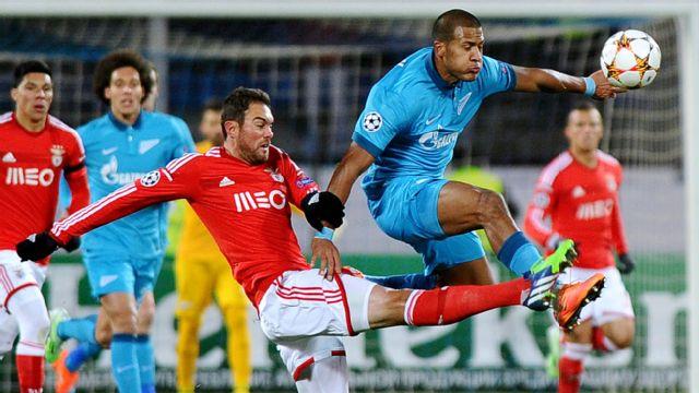 FC Zenit St. Petersburg vs. SL Benfica (UEFA Champions League)