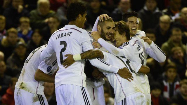 En Espa�ol - Liverpool vs. Real Madrid (UEFA Champions League)