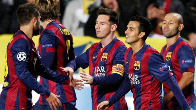 In Spanish - APOEL vs. Barcelona (UEFA Champions League) (re-air)