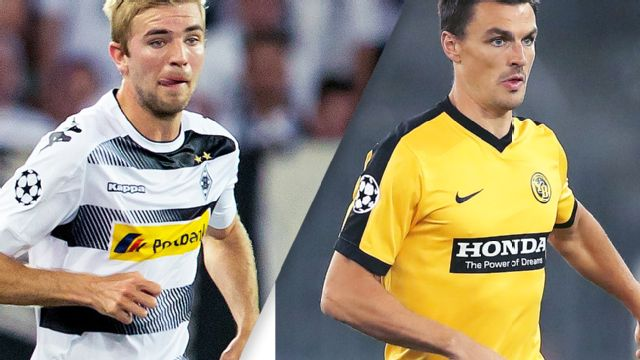 In Spanish - Borussia Monchengladbach vs. Young Boys (UEFA Champions League)